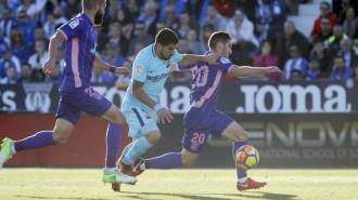 El Barça no falla a Leganés (0-3)