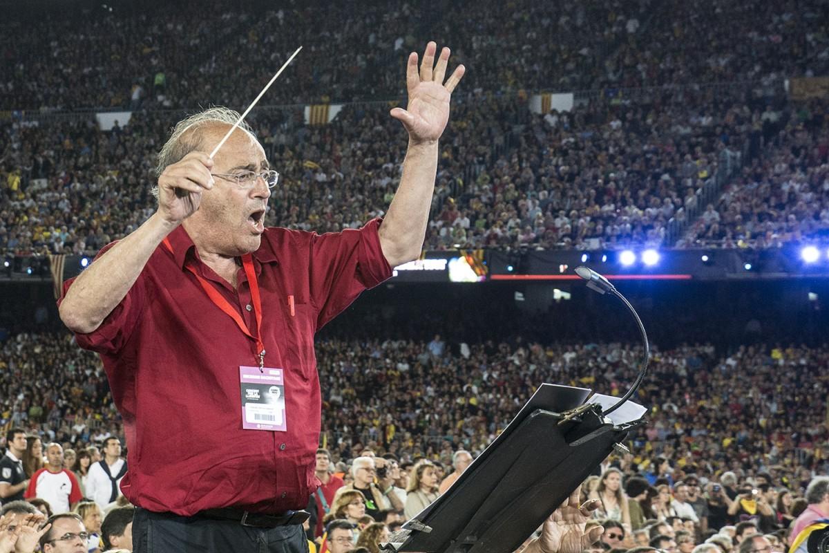 Carles Santos al Concert per la Llibertat de l'any 2013