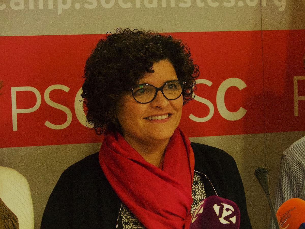 Rosa M. Ibarra, cap de llista del PSC per Tarragona.