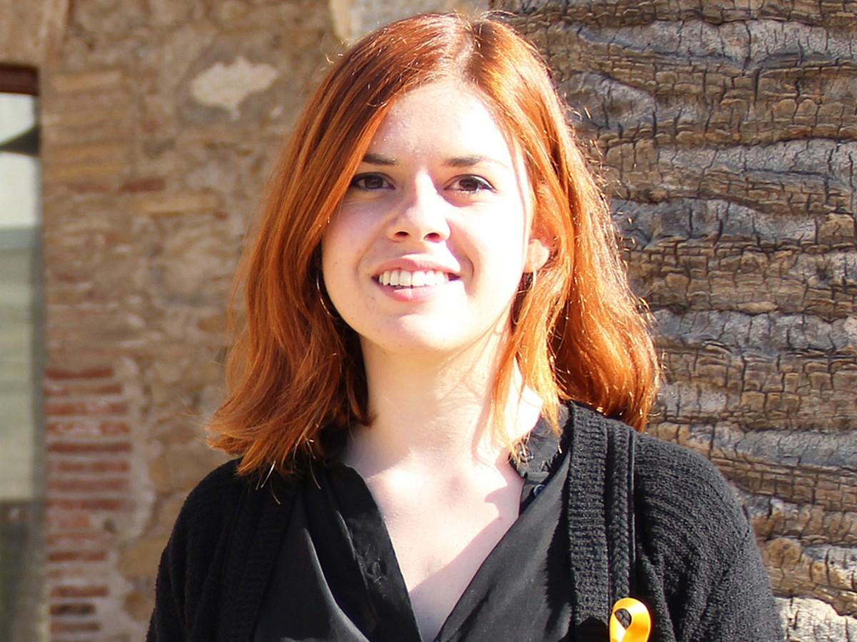 Judit Calveras, candidata número 7 per la llista d'ERC a Girona
