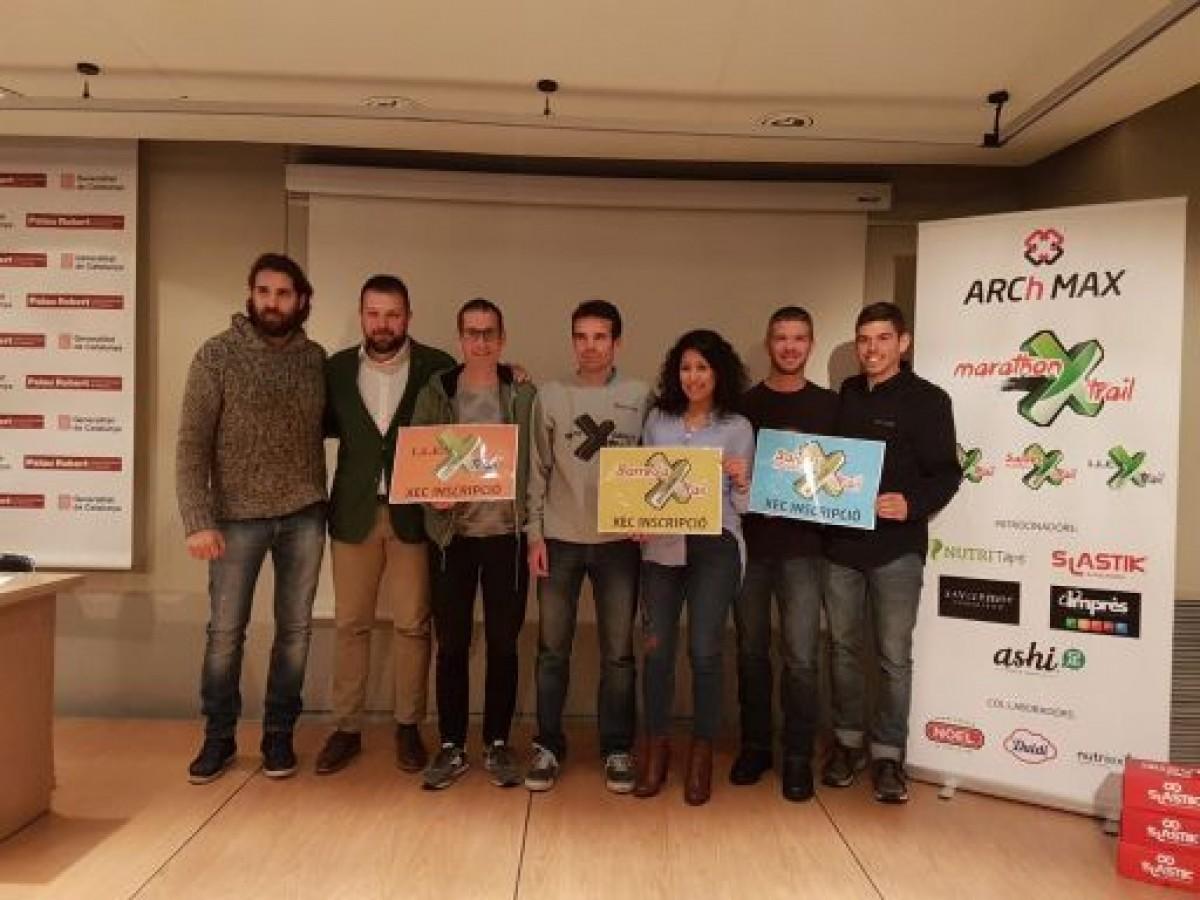 Instantània de la presentació de les curses ahir al Palau Robert de Barcelona.
