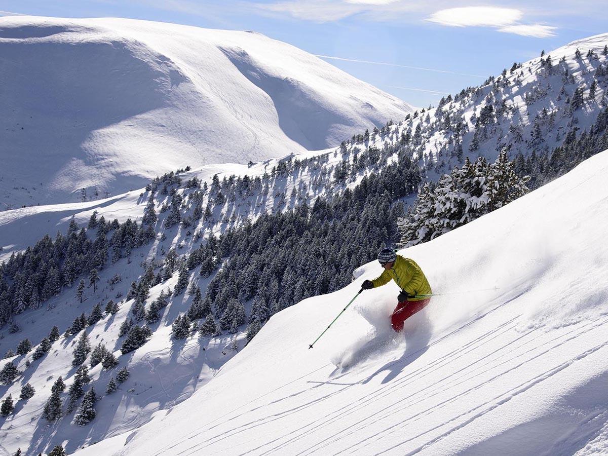 A la vista el primer cap de setmana de la temporada amb el domini Alp2500 obert