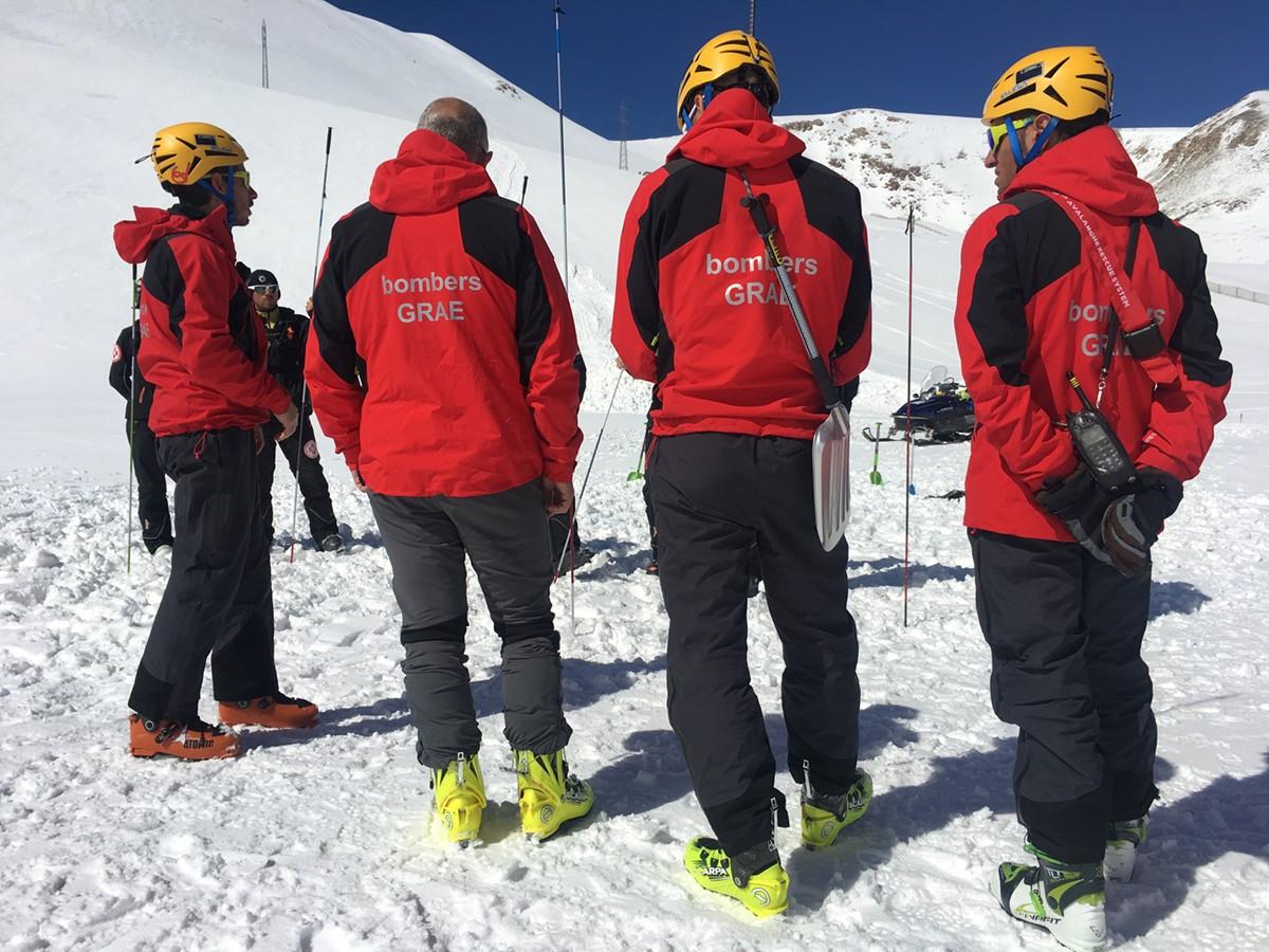 Els GRAE preparen per demà a La Molina una jornada tècnica de rescat en allaus