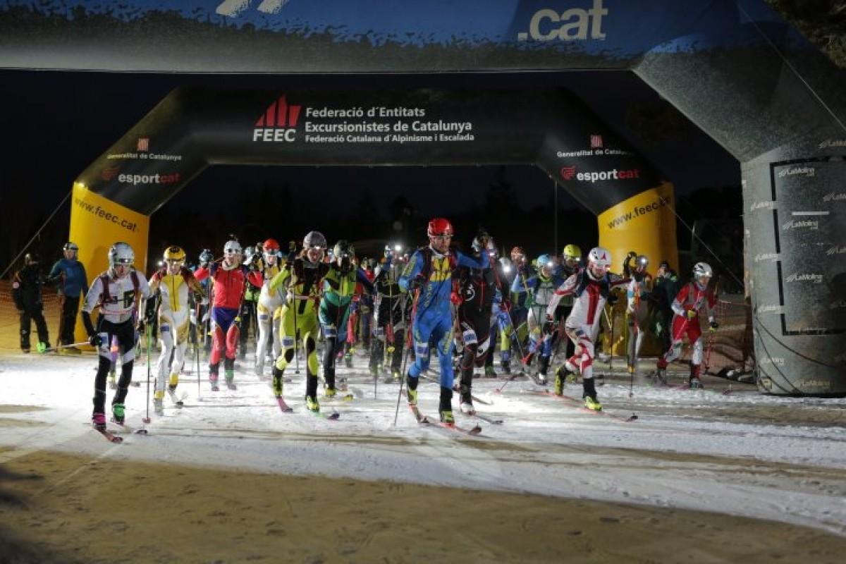 La Crononiu va decidir els campions de Catalunya de curses verticals de la FEEC.