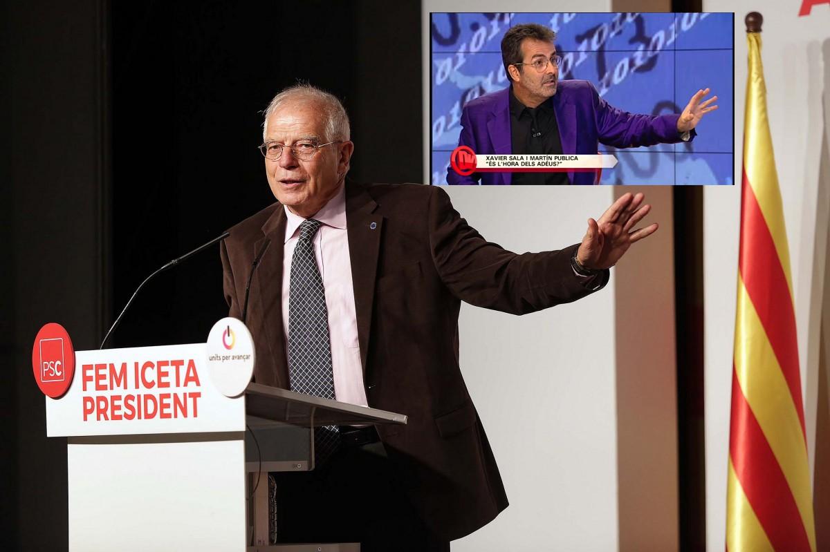 Josep Borrell i Xavier Sala-i-Martín