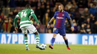 El Barça tanca la fase de grups amb una victòria davant l'Sporting de Portugal (2-0)