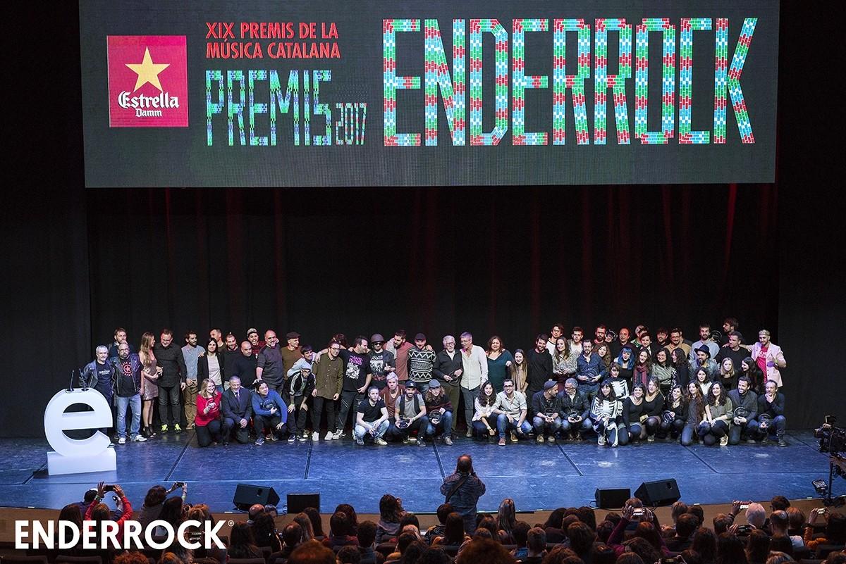 Premis Enderrock 2017
