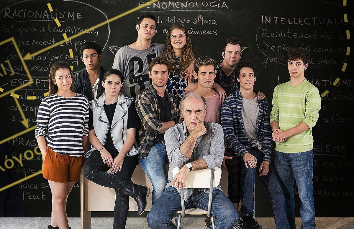 Actors de la sèrie «Merlí».
