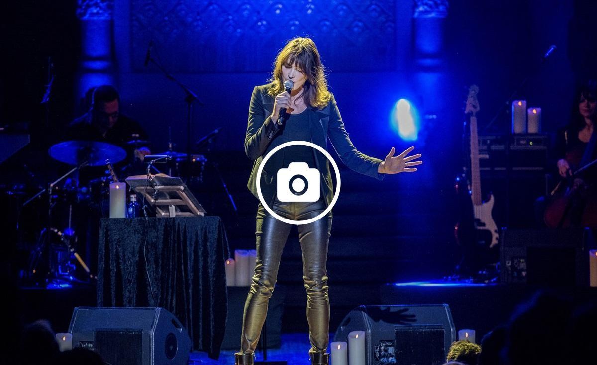 La cantant franco-italiana aquest divendres 12 de gener