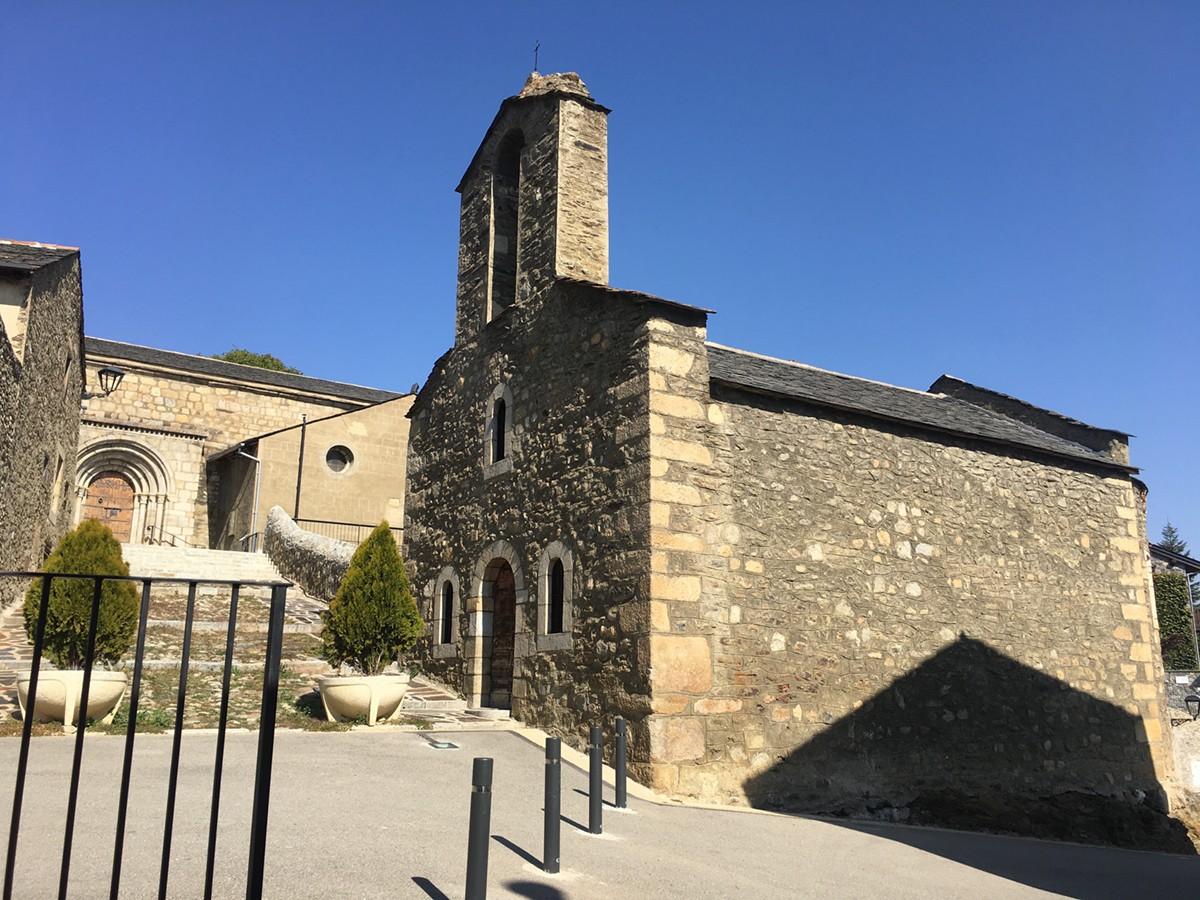Església i casc antic de Bolvir.