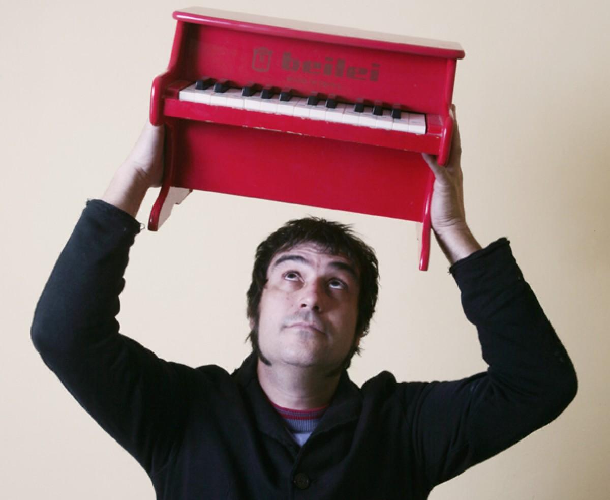 Marc Serrats, productor del llibre-disc impulsat per Plataforma per la Llengua