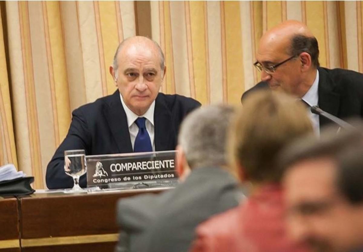 Jorge Fernández Díaz, a la comissió del Congrés