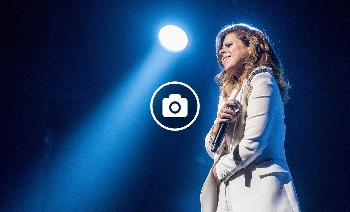La cantant Pastora Soler fent la seva particular incursió al flamenc