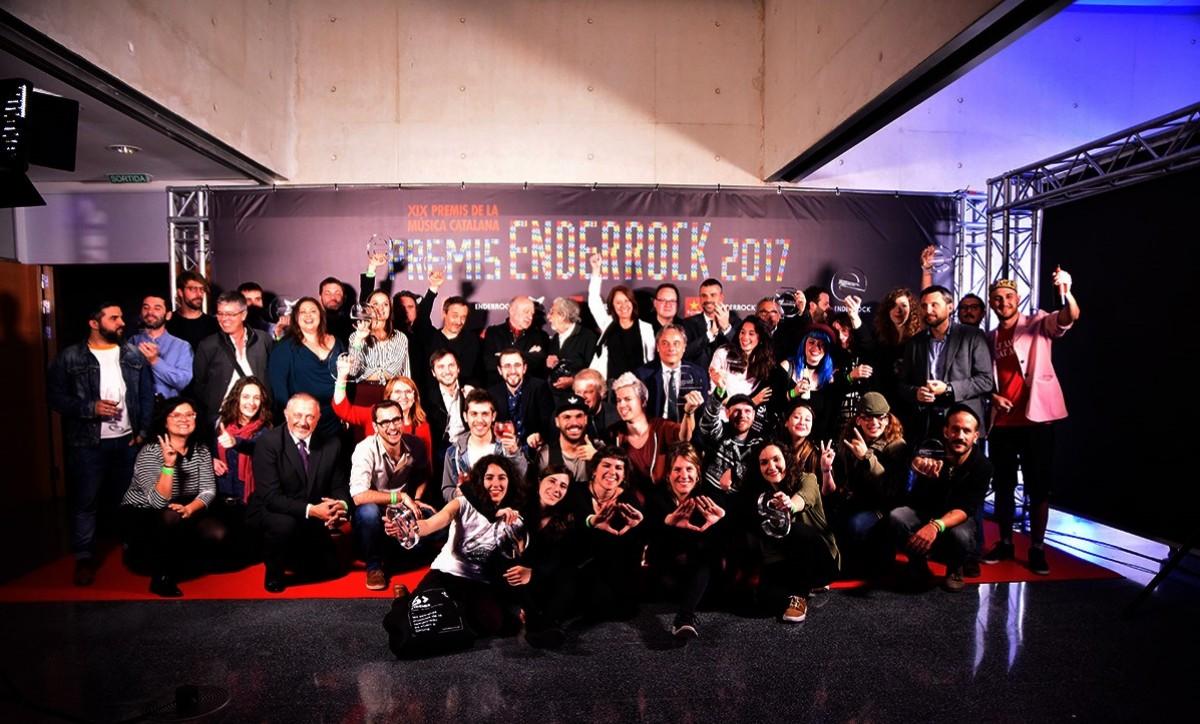 Guanyadors dels Premis Enderrock 2017