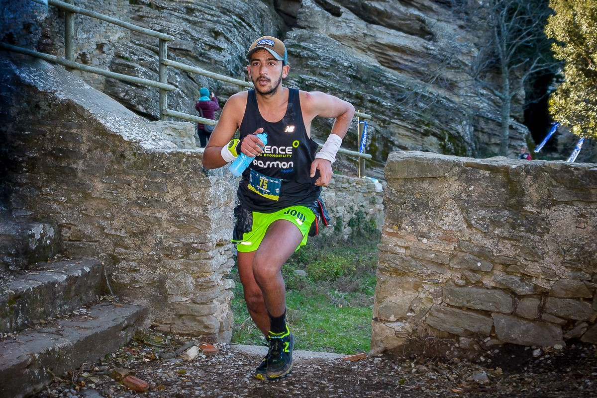 Abdelkadous Mouj ha guanyat amb mestratge la prova reina del Trail Rocacorba.