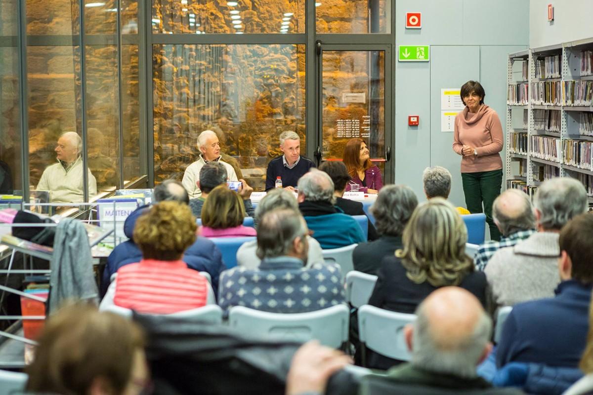Núria Boltà va presentar divendres el seu llibre
