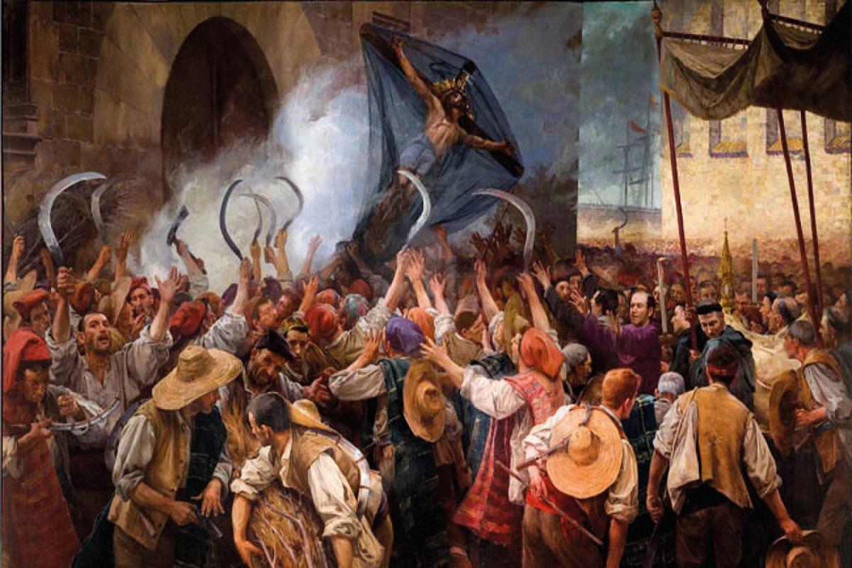 Pintura d'Antoni Estruch