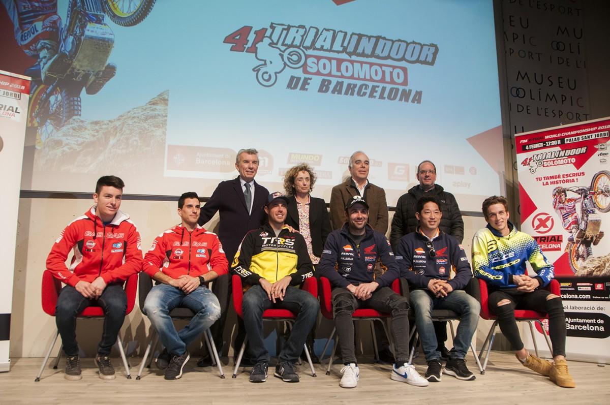 Presentació del 41è Trial Indoor de Barcelona