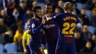 El Barça estrena el 2018 amb un empat contra el Celta a la Copa del Rei (1-1)
