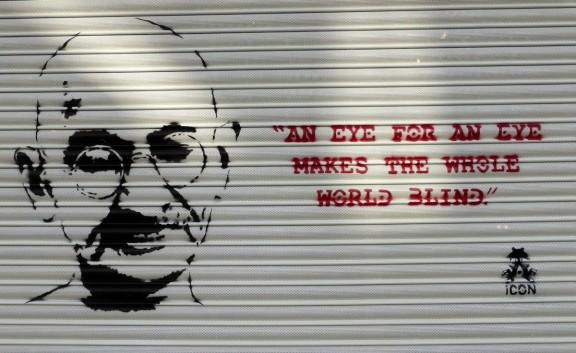 Gandhi, la pau és el camí