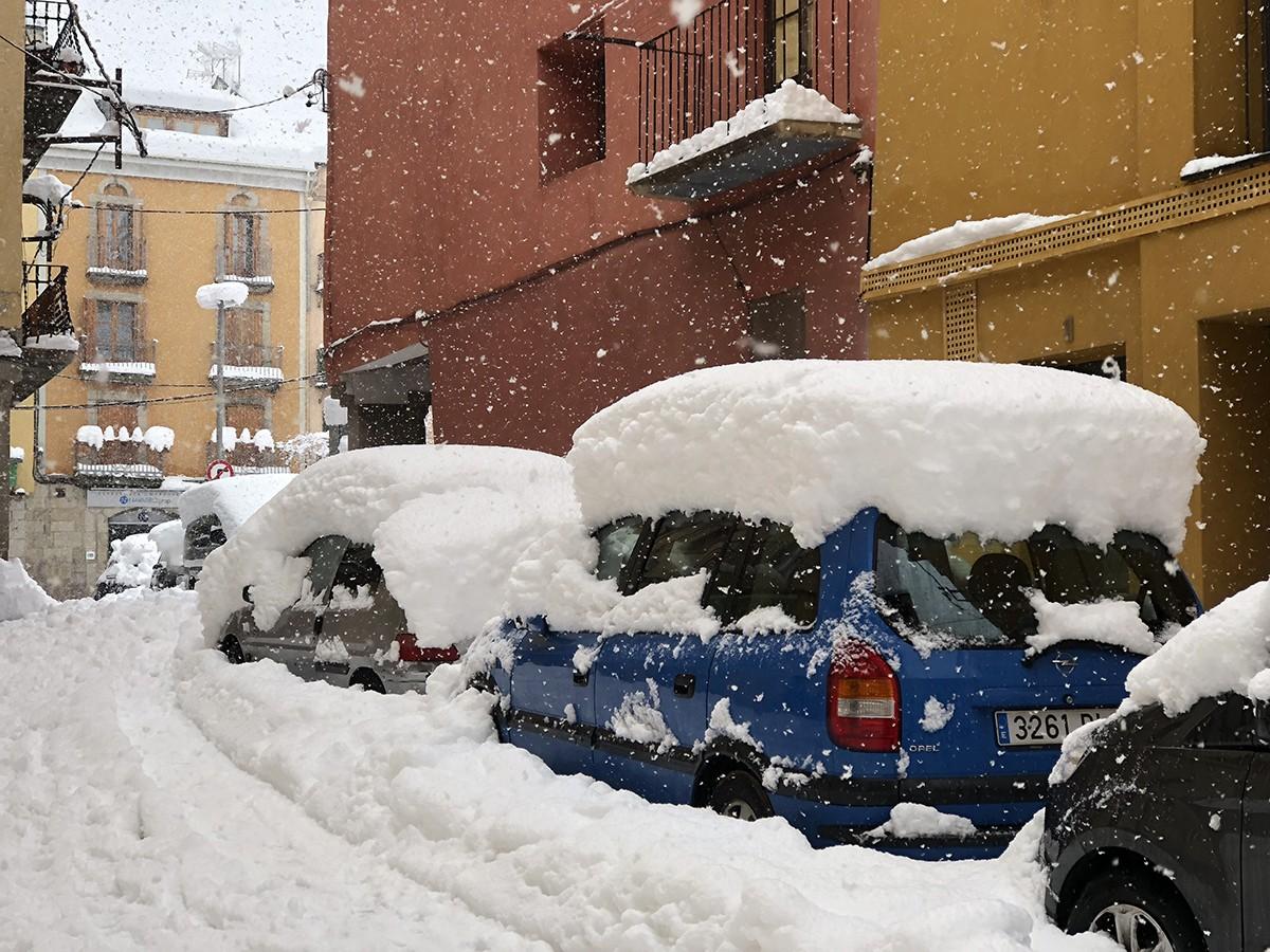 La neu deixa sense llum a 5.000 abonats de la Cerdanya, Alt Urgell i Berguedà