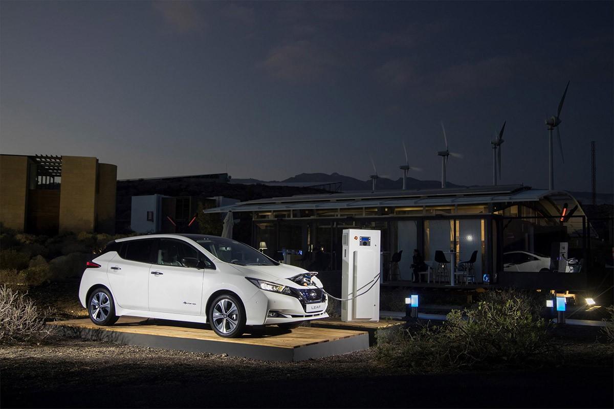 Nissan integra el cotxe al sistema energètic de la llar