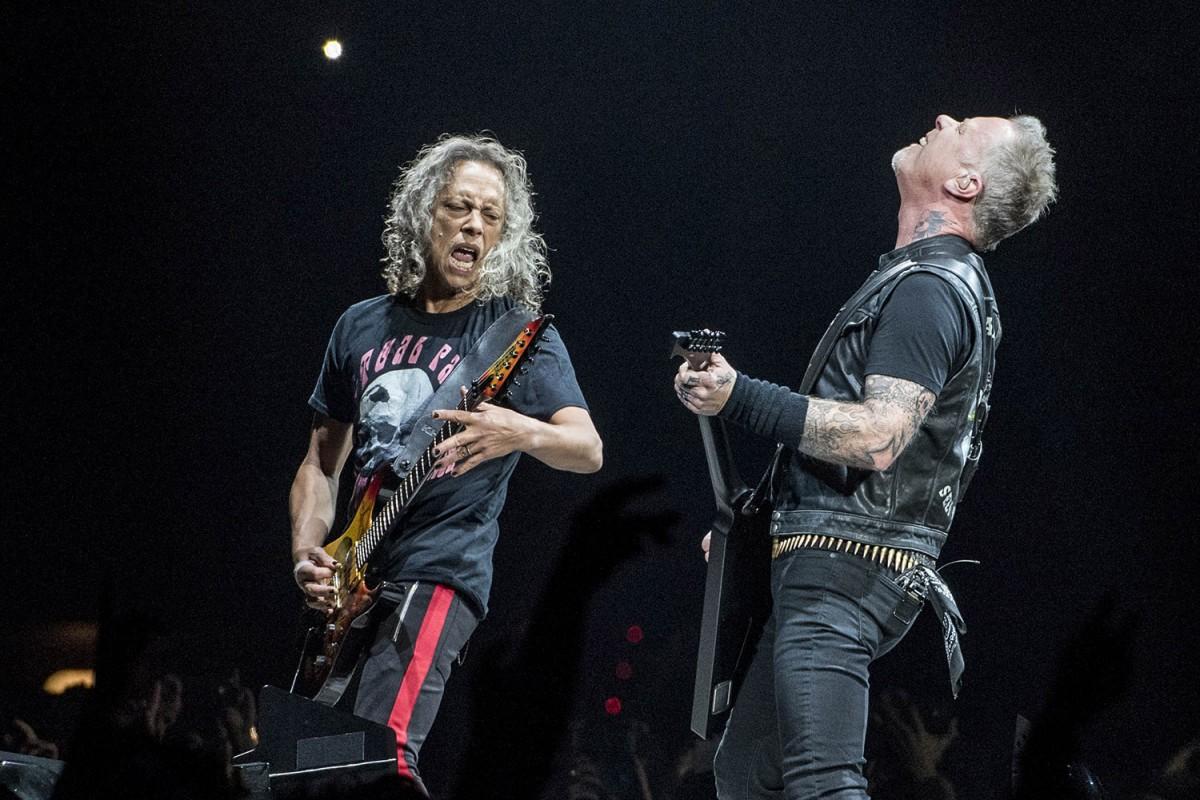 Metallica al Palau Sant Jordi de Barcelona el 8 de febrer de 2018