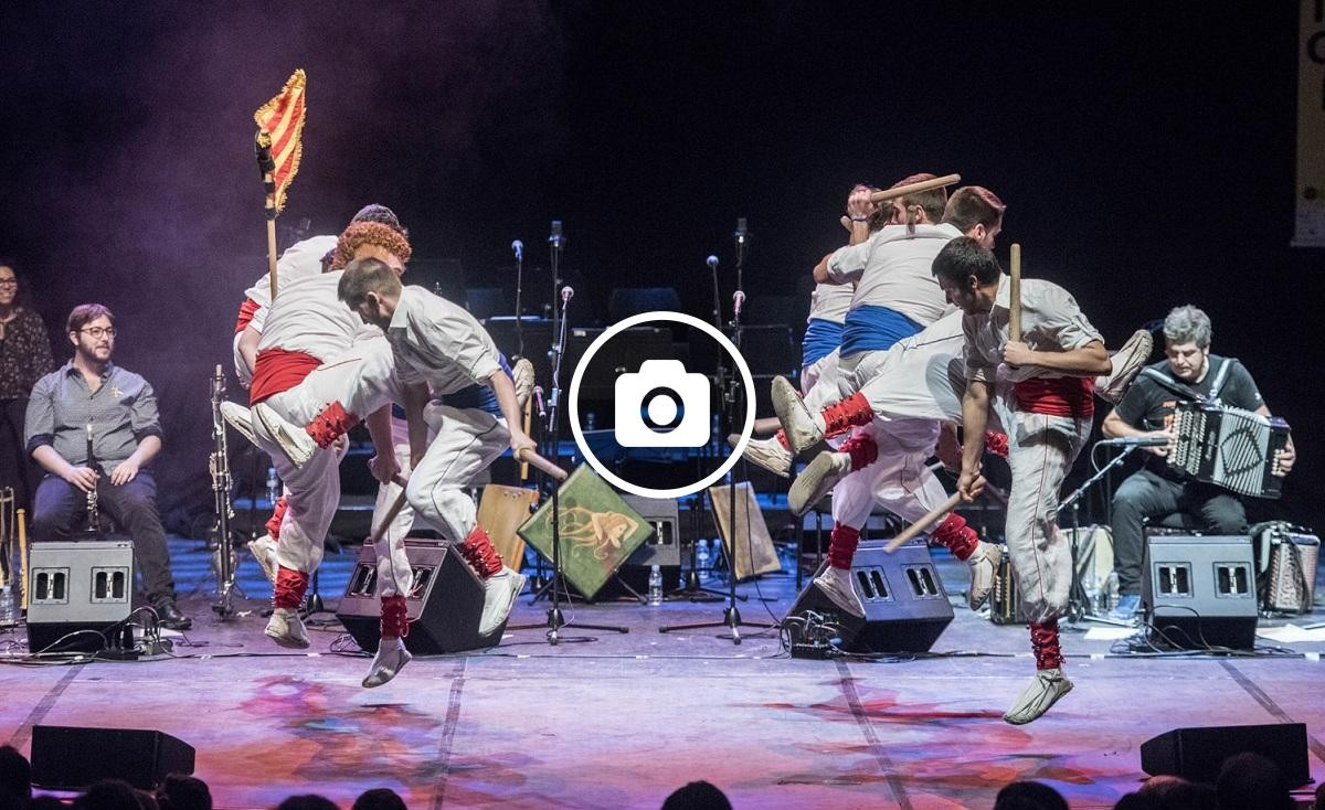 L'espectacle de Kepa Junkera homenatjava la cultura  popular catalana