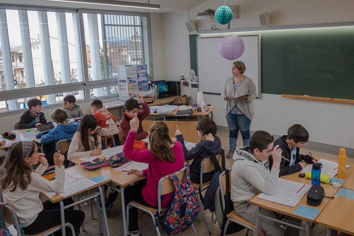 L'escola Emili Teixidor de Roda de Ter