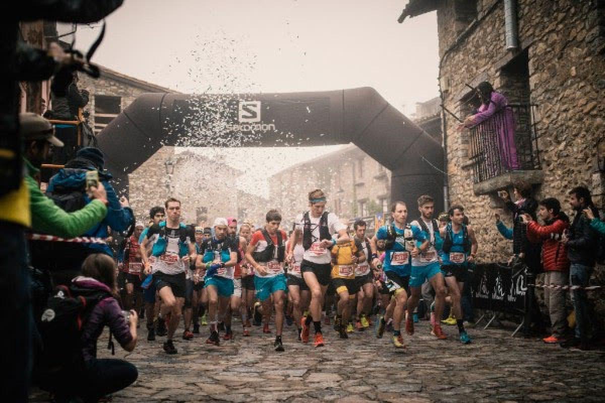 Sortida de la Marató Pirineu.