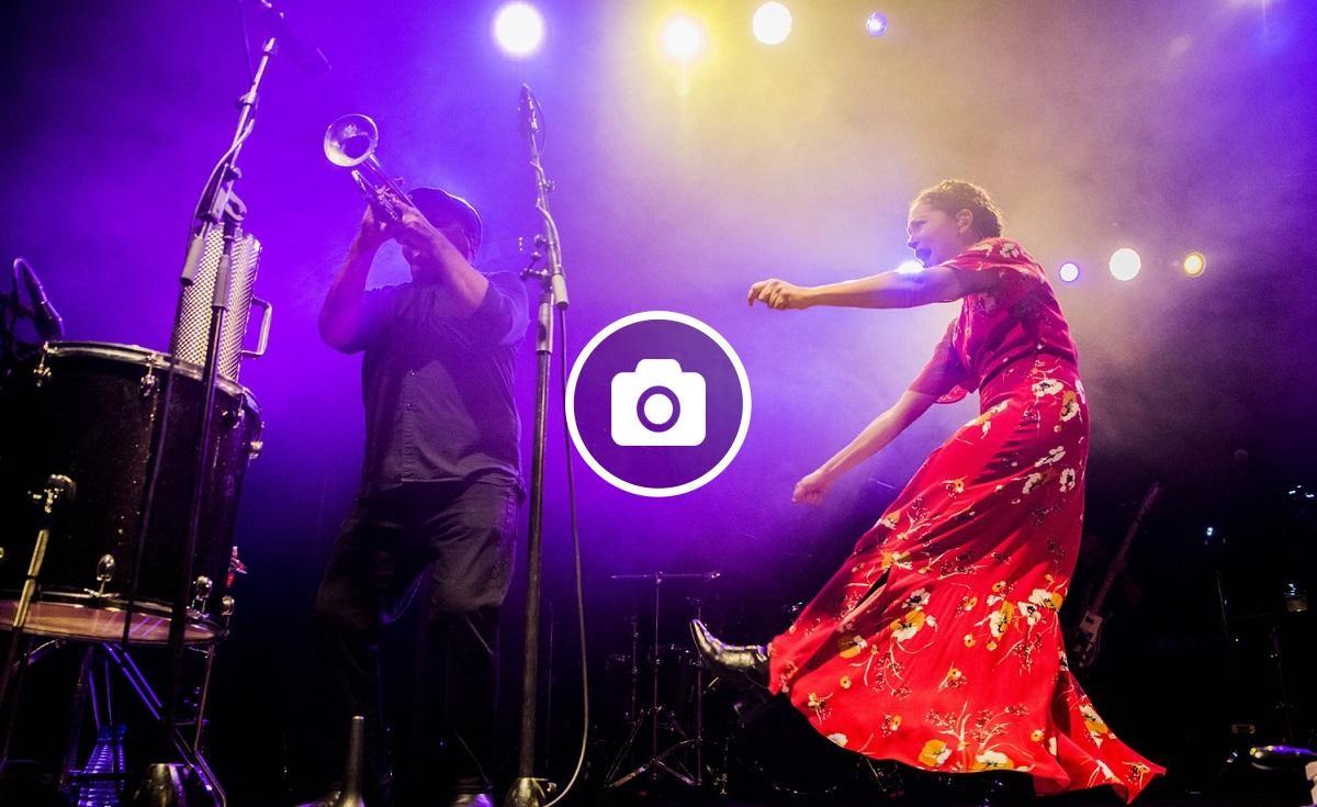 Natalia Fourcade en concert el dia 15 de febrer