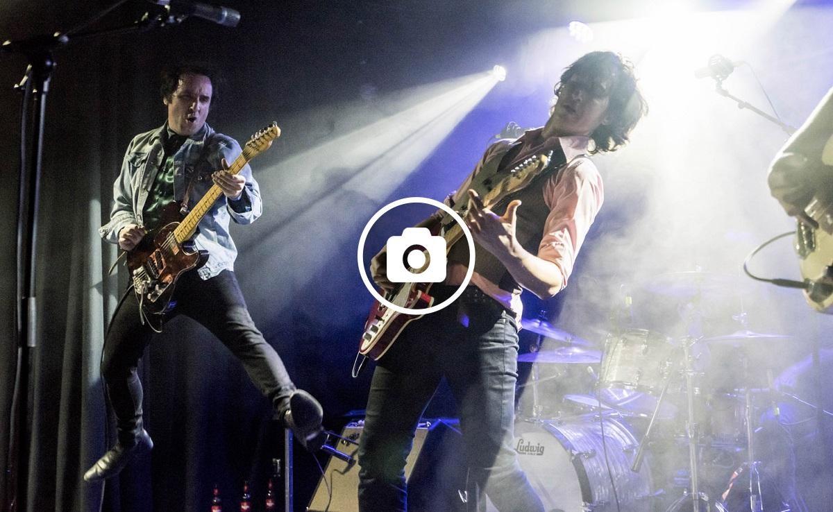 Els bilbains Atom Rhumba en concert