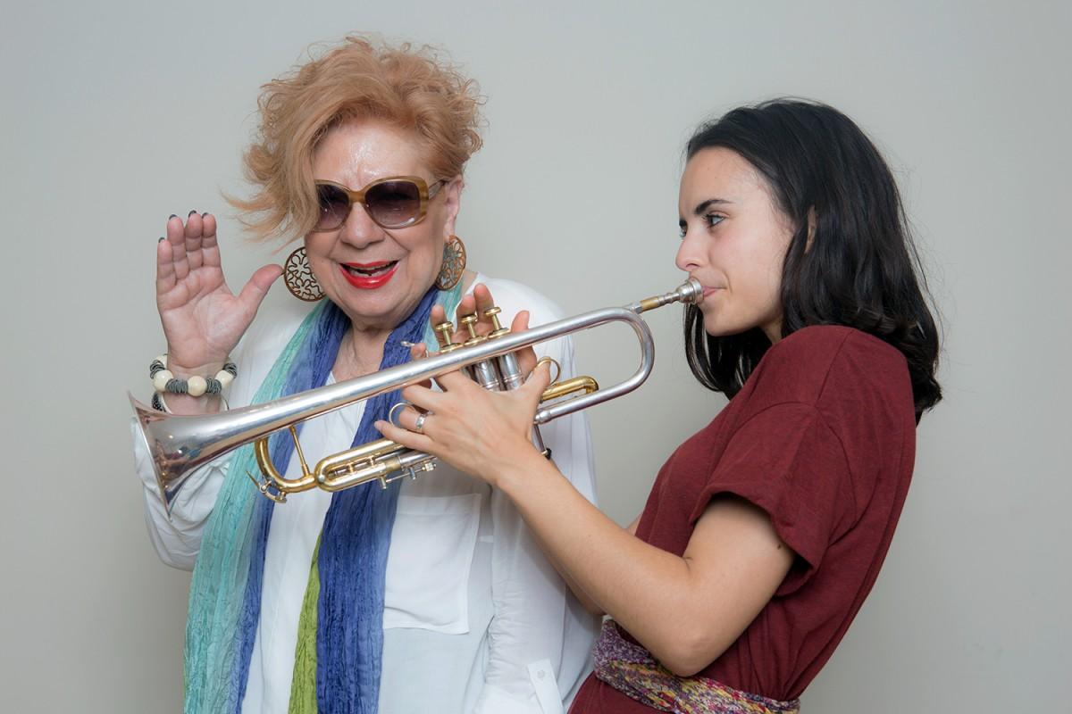 Núria Feliu i Andrea Motis
