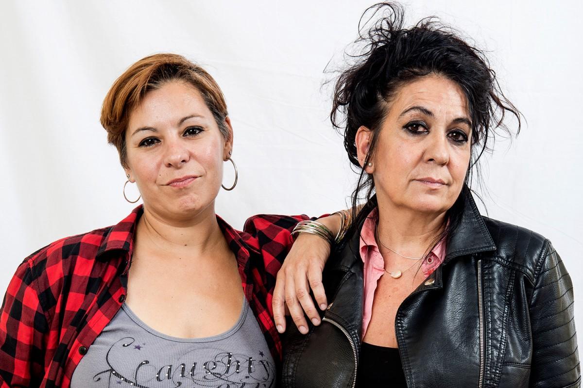 Raquel Pascual i Mireia Tejero