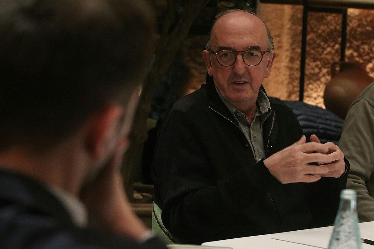 Jaume Roures al Consell Editorial de NacióDigital