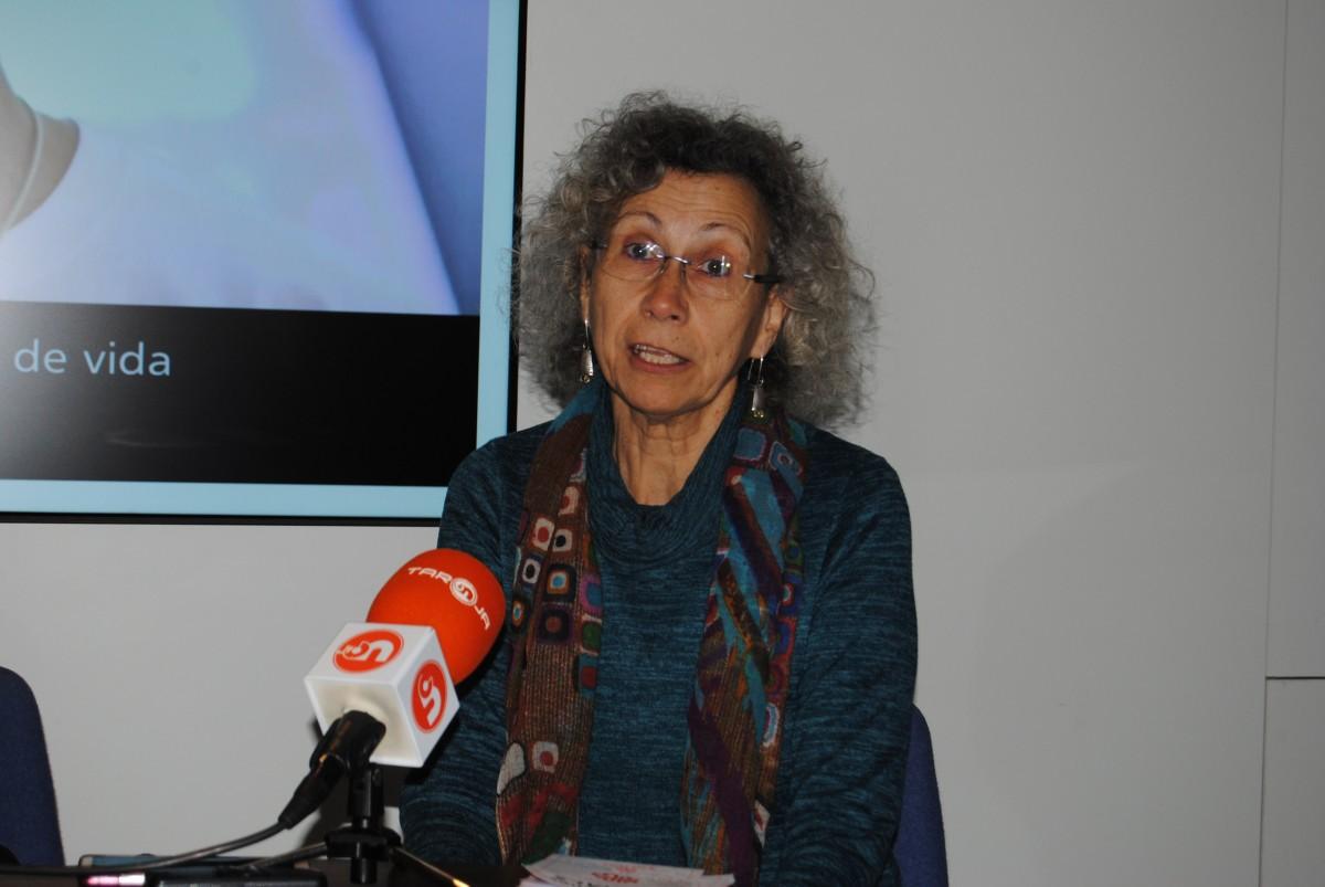 Fina Farrés, presidenta de Càritas Manresa, en una imatge d'arxiu