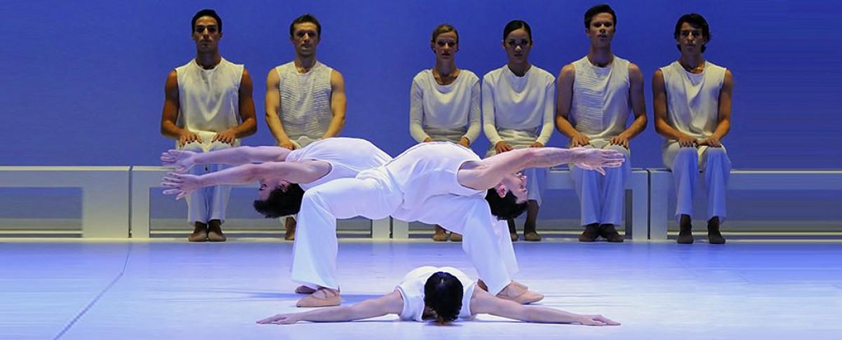 El Ballet de Bordeus interpretant «El Messies»