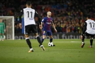 El Barça supera el València per 1 a 0 a l'anada de la semifinal de Copa