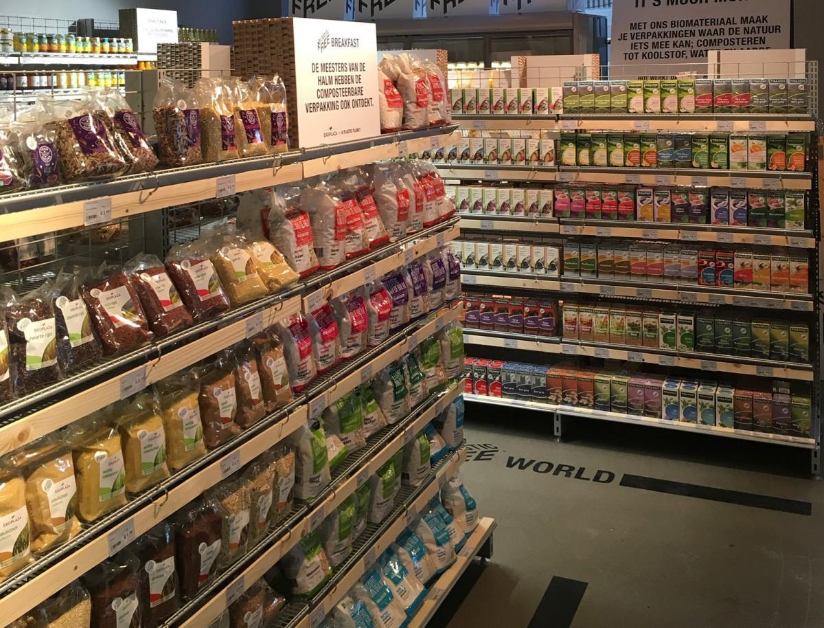 El nou passadís del supermercat holandès