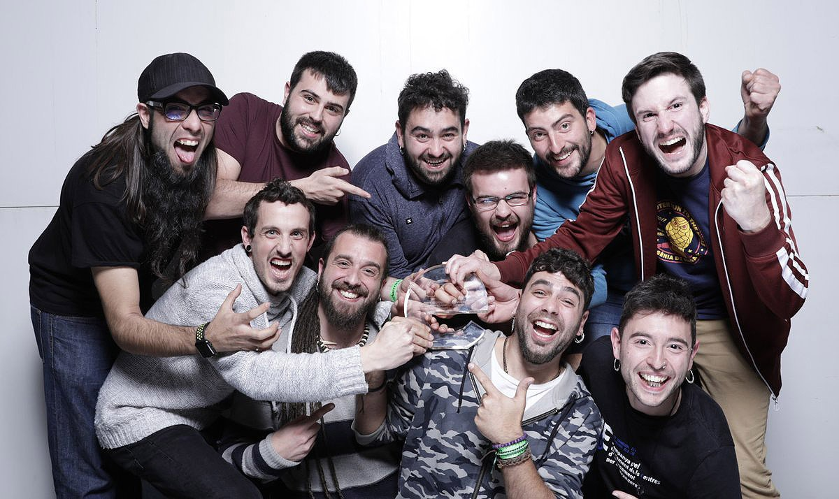 Txarango, gran triomfador de la nit de la música catalana