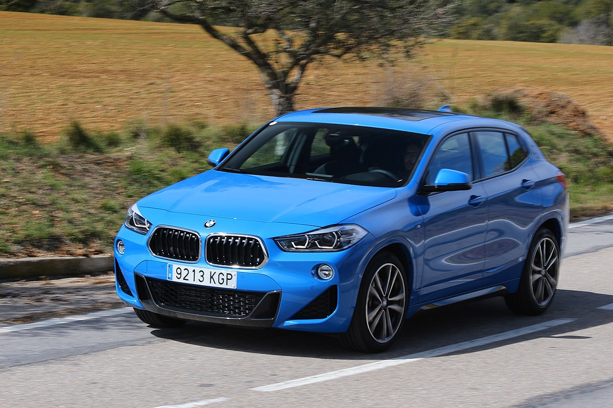 El nou BMW X2 és àgil com pocs de la seva categoria sobre la carretera