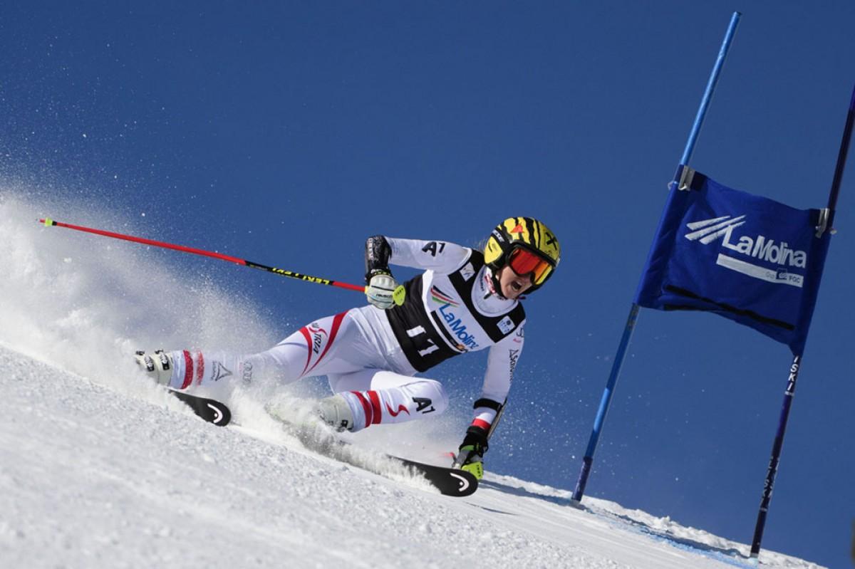 L'austríaca Nina Ortlieb s'imposa al segon gegant de la Copa d'Europa FIS d'esquí alpí femení