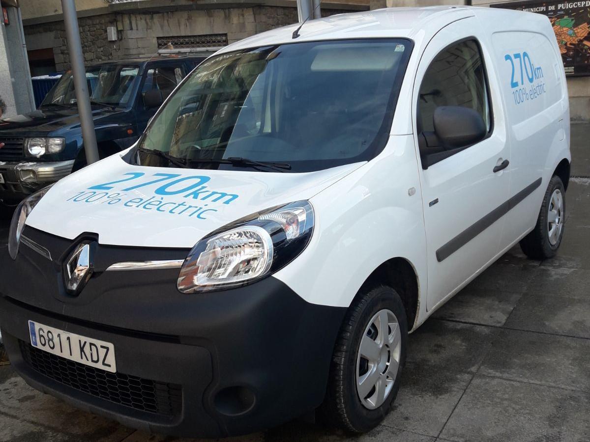 L'Ajuntament de Puigcerdà posa a prova un un cotxe elèctric