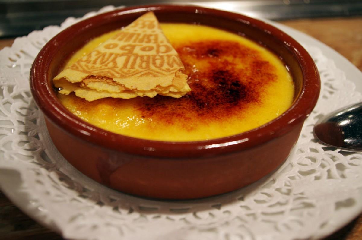 El dia del pare és tradició menjar una bona crema catalana