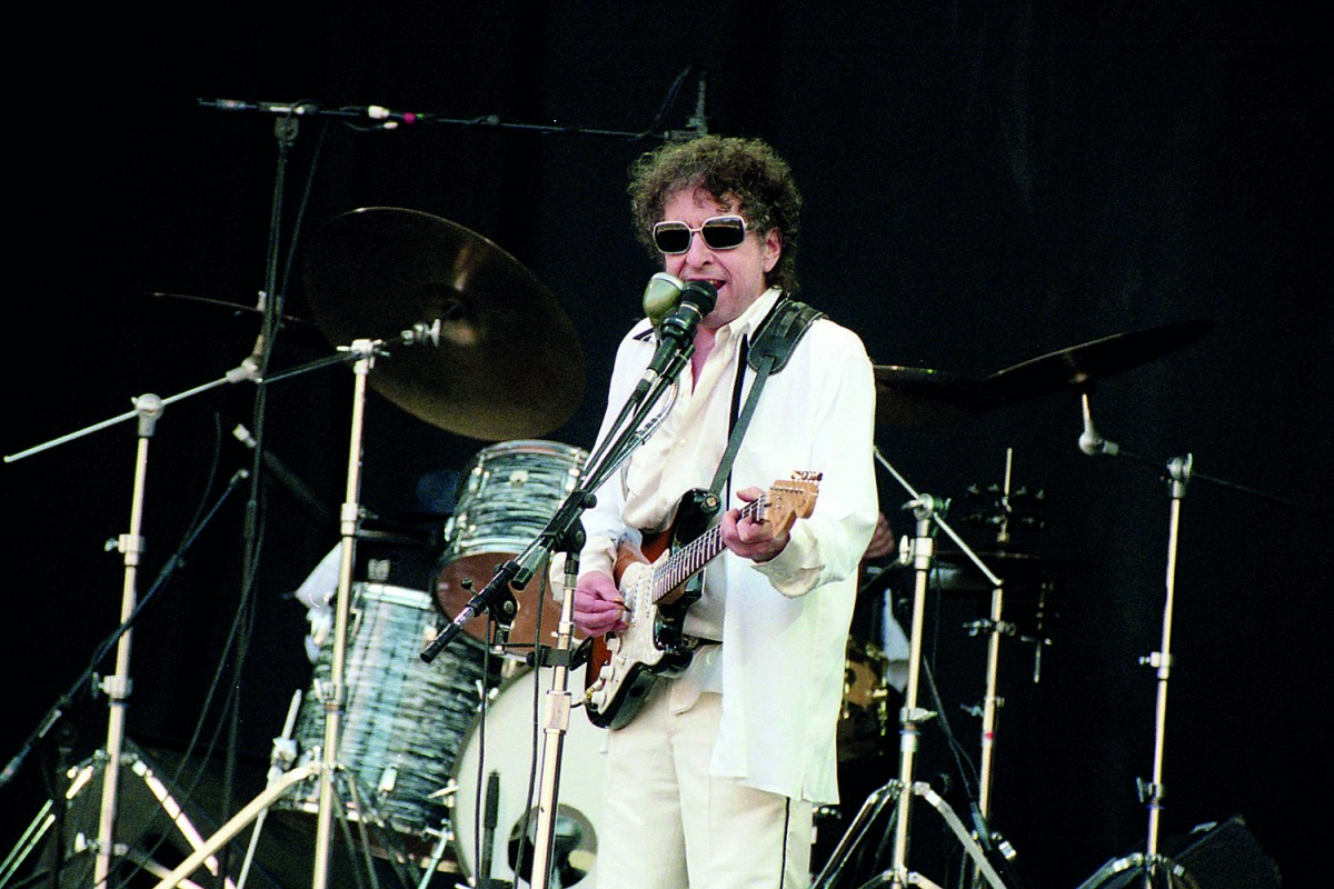 Bob Dylan al Doctor Music Festival de l'any 1998