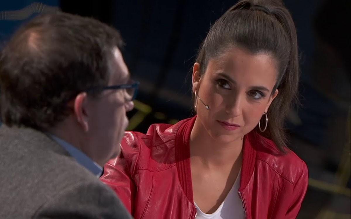 Laura Rosel, en una entrevista al «FAQS»