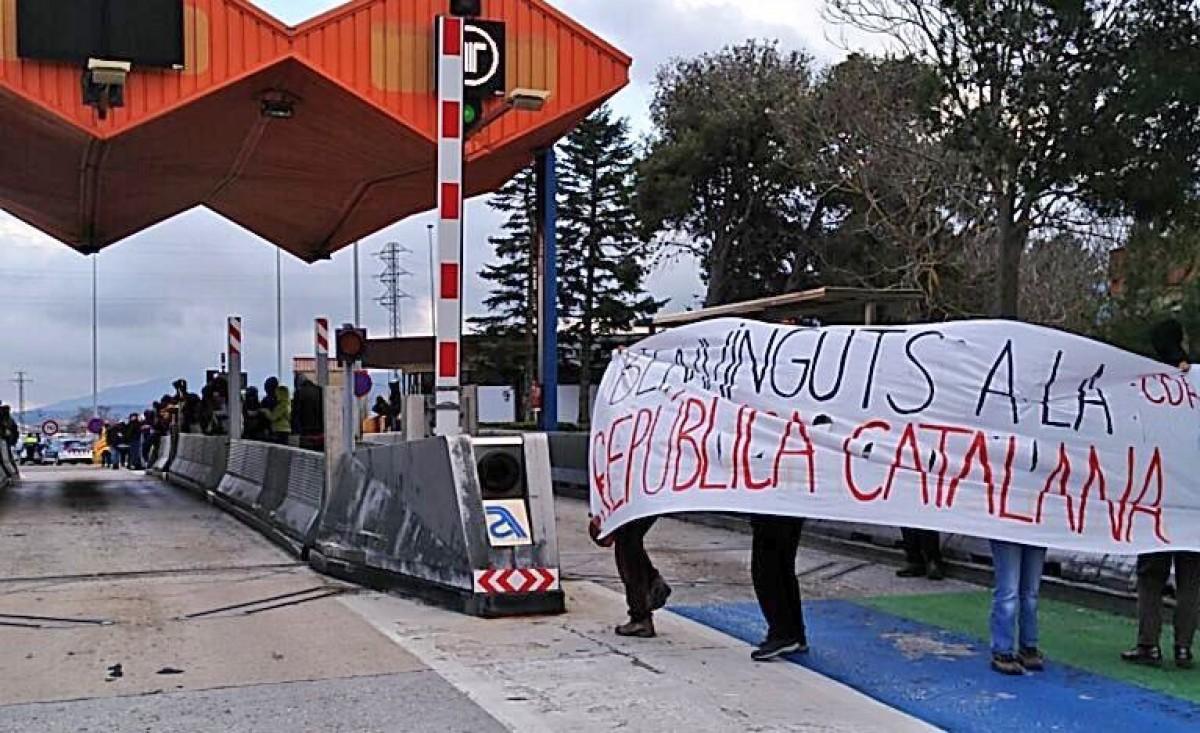Manifestació Vic presos polítics