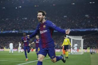 Un Messi estel·lar guia el Barça cap als quarts de final de la Champions