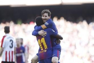 El Barça en té prou amb una primera part brillant per derrotar l'Athletic de Bilbao (2-0)