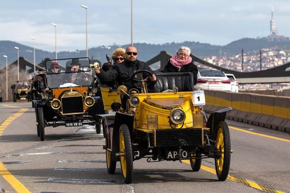 Ral·li de Cotxes d'Època Barcelona-Sitges